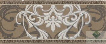 Бордюр Travertino Arabesque 10*25
